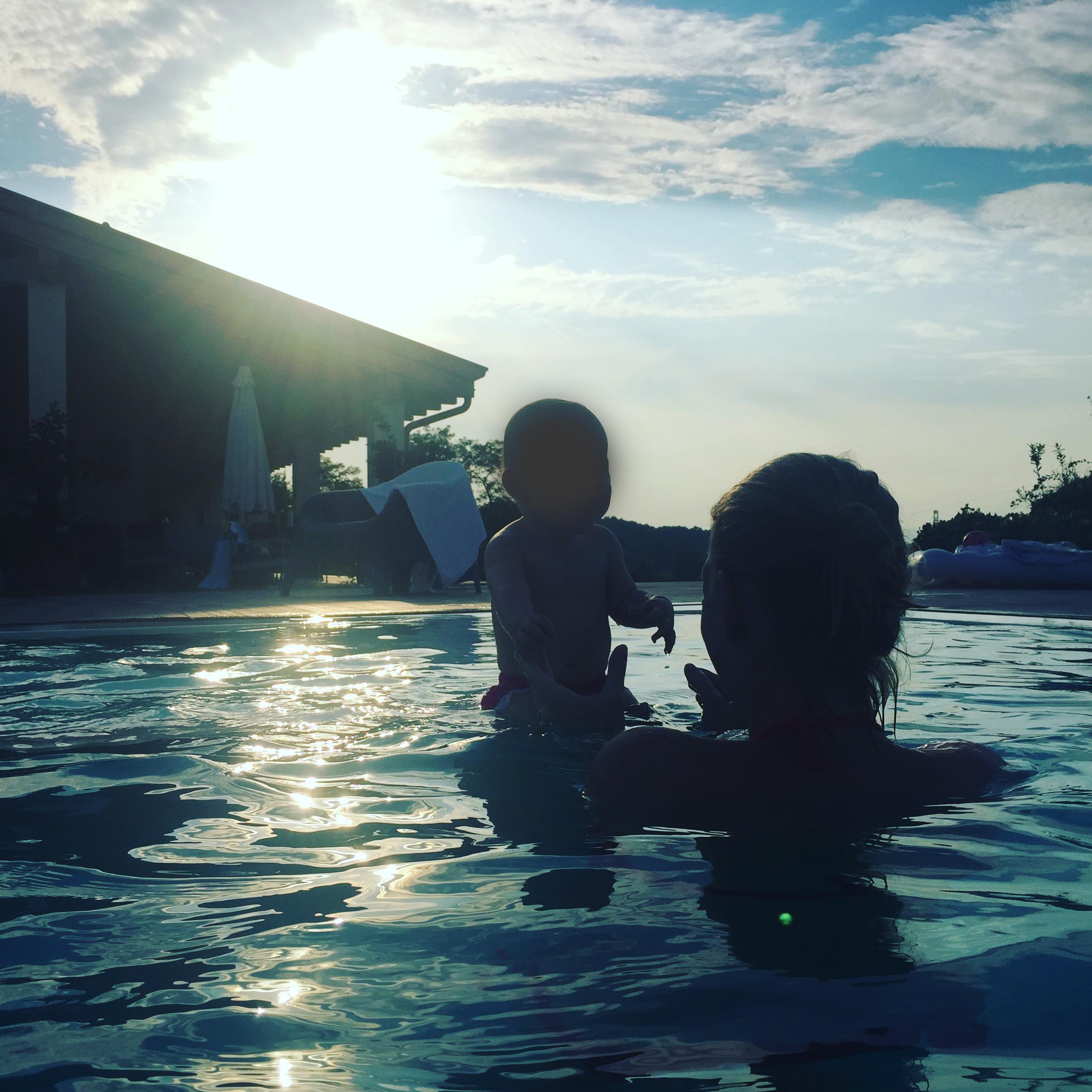 Sommer Urlaub mit Baby