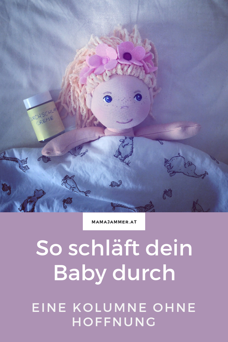 Baby und Durchschlafen - ein Mythos