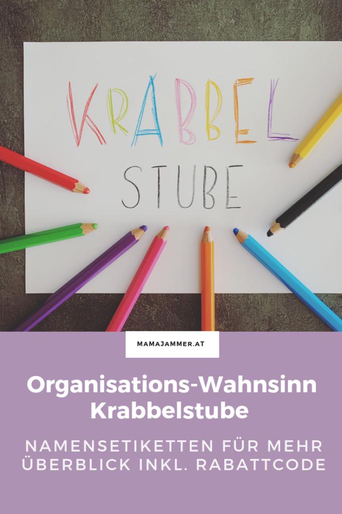Namensetiketten, Namensaufkleber  von stickerkid für Kindergarten und Krabbelstube